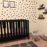 I Gave My Daughter Her Dream Pinterest Nursery For Only $10